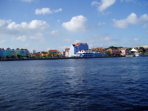 Jan '06 - Looking Across the Harbour Entrance Willemstad, Curacao - click to enlarge