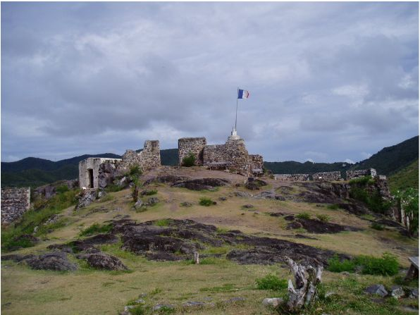 Sep '04 - Fort at Marigot - click to enlarge