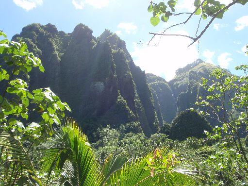 Marquesas - Nuku Hiva - Daniels Bay scenery
