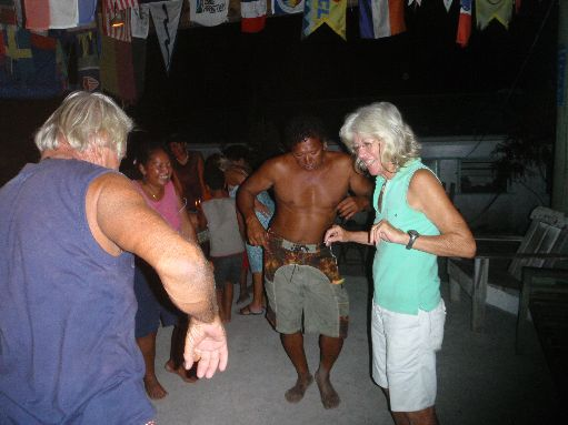 Jul '09 - Party on Anchorage Island - click to enlarge